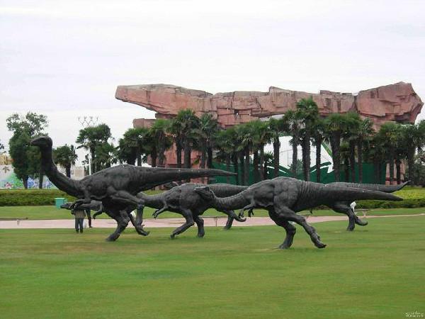 东方侏罗纪 常州中华恐龙园二日游 宁波出发