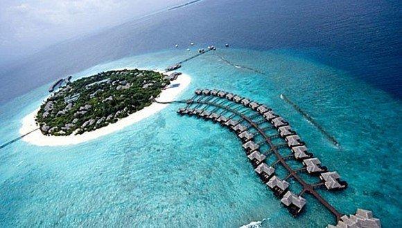 马尔代夫4N6D上航直飞希尔顿马纳法鲁岛THE BEACH HOUSE2水2沙促销活动